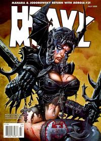 Cover Thumbnail for Heavy Metal Magazine (Heavy Metal, 1977 series) #v33#4