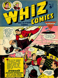 Cover Thumbnail for Whiz Comics (L. Miller & Son, 1950 series) #75