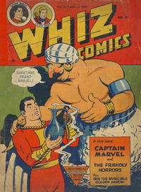 Cover Thumbnail for Whiz Comics (L. Miller & Son, 1950 series) #62
