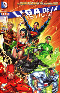 Cover Thumbnail for Liga de la Justicia (ECC Ediciones, 2012 series) #1