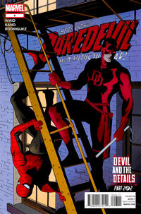 Cover Thumbnail for Daredevil (Marvel, 2011 series) #8 [Direct Edition]