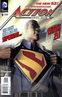 Cover Thumbnail for Action Comics (DC, 2011 series) #9