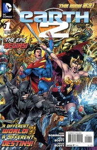 Cover Thumbnail for Earth 2 (DC, 2012 series) #1