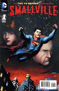 Cover Thumbnail for Smallville Season 11 (DC, 2012 series) #1