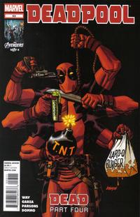 Cover for Deadpool (Marvel, 2008 series) #53