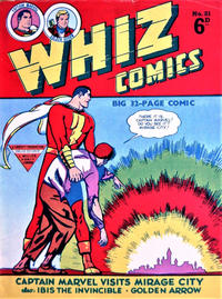 Cover Thumbnail for Whiz Comics (L. Miller & Son, 1950 series) #81