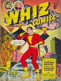 Cover Thumbnail for Whiz Comics (L. Miller & Son, 1950 series) #82
