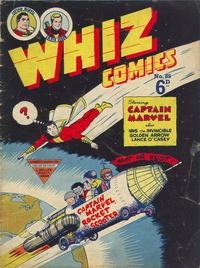 Cover Thumbnail for Whiz Comics (L. Miller & Son, 1950 series) #85