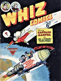 Cover Thumbnail for Whiz Comics (L. Miller & Son, 1950 series) #85