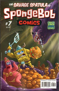 Cover for SpongeBob Comics (United Plankton Pictures, Inc., 2011 series) #7