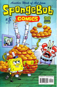 Cover for SpongeBob Comics (United Plankton Pictures, Inc., 2011 series) #5