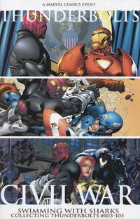 Cover Thumbnail for Civil War: Thunderbolts Swimming With Sharks (Marvel, 2006 series)