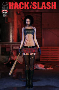 Cover Thumbnail for Hack/Slash (Image, 2011 series) #15 [Cover B]