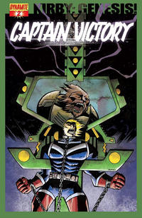 Cover Thumbnail for Kirby: Genesis - Captain Victory (Dynamite Entertainment, 2011 series) #2 [Cover B]