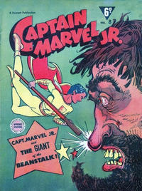 Cover Thumbnail for Captain Marvel Jr. (Cleland, 1947 series) #8