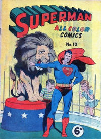 Cover Thumbnail for Superman (K. G. Murray, 1947 series) #10