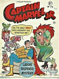 Cover Thumbnail for Captain Marvel Jr. (L. Miller & Son, 1950 series) #73