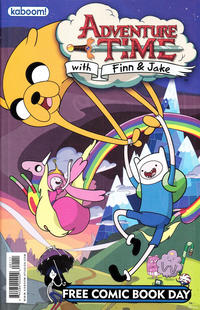 Cover Thumbnail for Adventure Time Free Comic Book Day Edition / Peanuts Free Comic Book Day Edition (Boom! Studios, 2012 series)