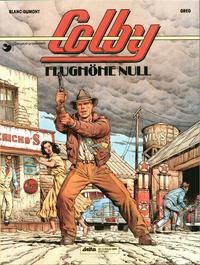 Cover Thumbnail for Colby (Egmont Ehapa, 1992 series) #1 - Flughöhe Null