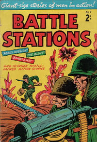 Cover Thumbnail for Battle Stations (Magazine Management, 1959 ? series) #7