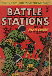 Cover Thumbnail for Battle Stations (Magazine Management, 1959 ? series) #5