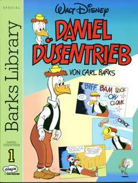 Cover Thumbnail for Barks Library Special - Daniel Düsentrieb (Egmont Ehapa, 1994 series) #1