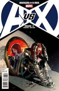 Cover Thumbnail for Avengers vs. X-Men (Marvel, 2012 series) #3 [Variant Cover by Sara Pichelli]