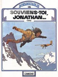Cover Thumbnail for Jonathan (Le Lombard, 1977 series) #1 - Souviens-toi, Jonathan...