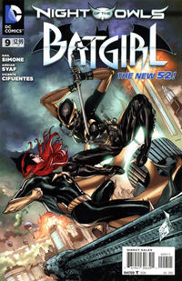 Cover Thumbnail for Batgirl (DC, 2011 series) #9