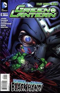 Cover Thumbnail for Green Lantern (DC, 2011 series) #9 [Doug Mahnke Cover]