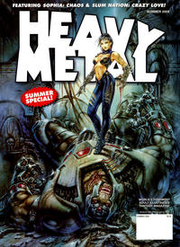 Cover Thumbnail for Heavy Metal Magazine (Heavy Metal, 1977 series) #v33#5 - Summer Special