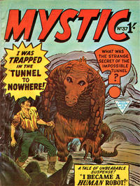 Cover Thumbnail for Mystic (L. Miller & Son, 1960 series) #37