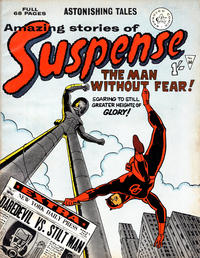 Cover Thumbnail for Amazing Stories of Suspense (Alan Class, 1963 series) #60