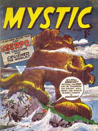 Cover Thumbnail for Mystic (L. Miller & Son, 1960 series) #36
