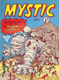 Cover Thumbnail for Mystic (L. Miller & Son, 1960 series) #41