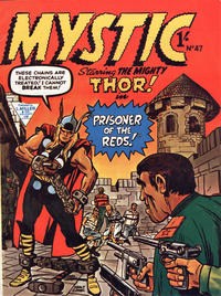 Cover Thumbnail for Mystic (L. Miller & Son, 1960 series) #47