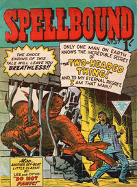 Cover Thumbnail for Spellbound (L. Miller & Son, 1960 ? series) #37