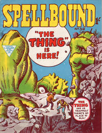 Cover Thumbnail for Spellbound (L. Miller & Son, 1960 ? series) #39
