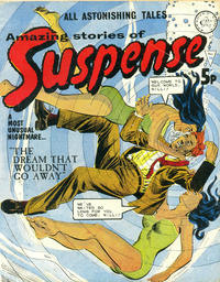 Cover Thumbnail for Amazing Stories of Suspense (Alan Class, 1963 series) #116