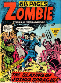 Cover Thumbnail for Zombie (L. Miller & Son, 1961 series) #2