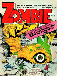 Cover Thumbnail for Zombie (L. Miller & Son, 1961 series) #3