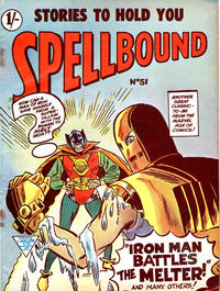 Cover Thumbnail for Spellbound (L. Miller & Son, 1960 ? series) #51