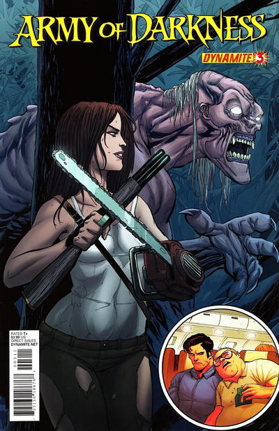 Cover for Army of Darkness (Dynamite Entertainment, 2012 series) #3 [Cover A (Main) Tim Seeley]