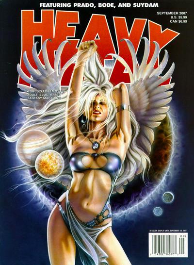 Cover for Heavy Metal Magazine (Heavy Metal, 1977 series) #v31#4