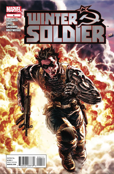 Cover for Winter Soldier (Marvel, 2012 series) #4 [Avengers Art Appreciation variant]