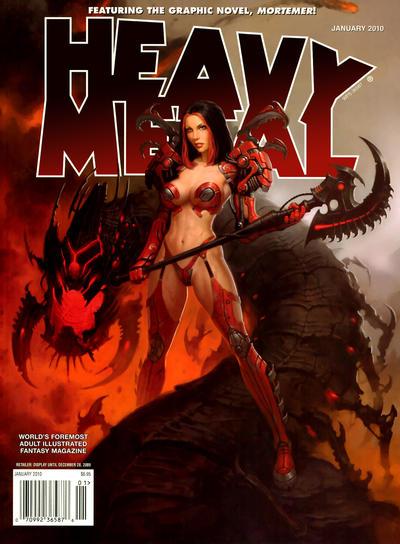 Cover for Heavy Metal Magazine (Heavy Metal, 1977 series) #v33#9