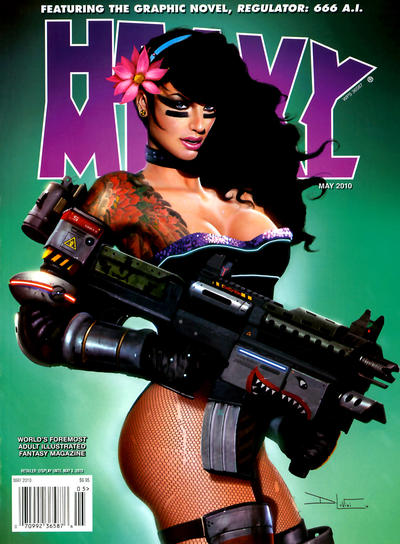 Cover for Heavy Metal Magazine (Heavy Metal, 1977 series) #v34#2 [3]
