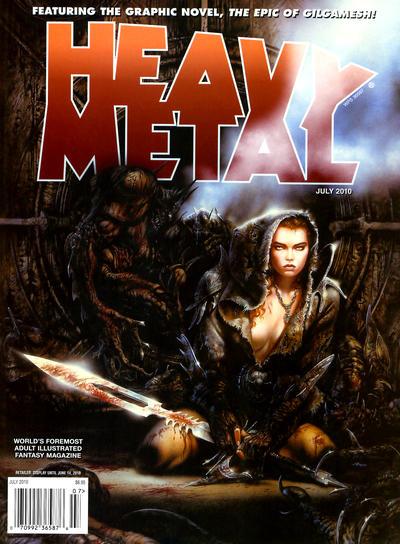 Cover for Heavy Metal Magazine (Heavy Metal, 1977 series) #v34#4