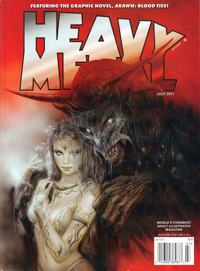 Cover for Heavy Metal Magazine (Heavy Metal, 1977 series) #v35#4
