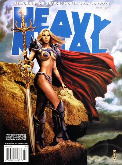 Cover for Heavy Metal Magazine (Heavy Metal, 1977 series) #v32#1